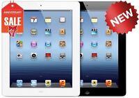NEW Apple iPad 4th gen 16GB WIFI + 4G (UNLOCKED) Retina Display (Black or White)