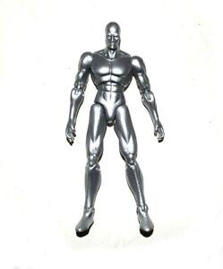 """Toybiz Marvel Legends Fantastic Four Silver Surfer 5.5"""" Loose Action Figure"""