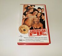 American Pie VHS PAL BIG BOX EX RENTAL
