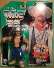 WWF Original Oficial Hasbro Bart Gunn fumar Gunns 1994 Raro Verde Tarjeta!