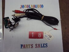 Technics Turntable SL-Q20 RCA Plugs & Cartridge Interface. Parting out SL-Q20