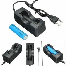 3800mAH BRC 3.7v 18650 Battery Rechargeable Li-ion Battery Power + EU Charger