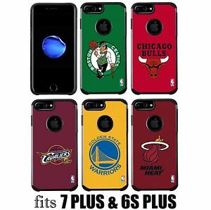 For iPhone 7+ Plus / 6S+ Plus -HYBRID HIGH IMPACT ARMOR NBA BASKETBALL SKIN CASE