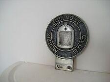"""Early Original """"Morris Bullnose Club"""" Car Badge,Carries members Number,AA,RAC"""