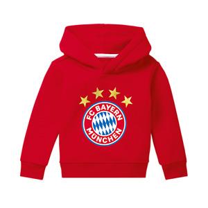 Original FCB Kleinkind Hoodie Logo rot FC Bayern München (Artikel-Nr. 21865)