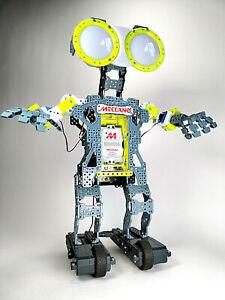 "G15 Meccano Erector Mechanoid Build Your Own Personal Interactive Robot 24"""