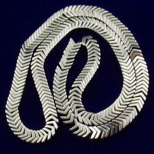 A Strand 6x3x2mm Silver Hematite Gemstone Arrow Loose Bead 15.5 inch AG398