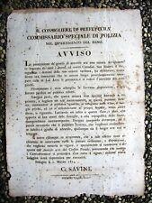 K700-BOLOGNA-MURAT 1814 SUI GIOCHI D'AZZARDO