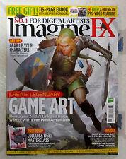 IMAGINE FX Sci Fi + Free 4 Hrs Video Nov 2015 CREATE LEGENDARY GAME ART Zelda ++