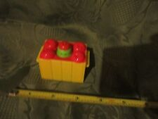 Fisher Price little people garden apple worm crate horse food  barn farm ranch