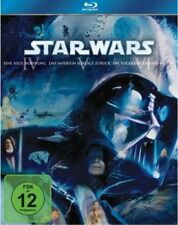 STAR WARS TRILOGIE, Episode IV, V + VI (3 Blu-ray Discs) NEU+OVP