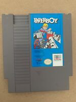 Paperboy 100% AUTHENTIC Original Nintendo NES Game Tested Working Cartridge Only