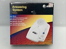 AT&T Answering System 1305 Micro Cassette Answering Machine Recorder NEW