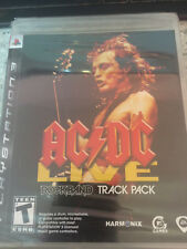 PS3 ac/dc Live Rockband Track Pack Brand New Sealed Has Rips in Packaging