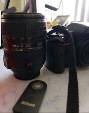 Nikon D D5100 16.2MP Digital SLR Camera - Black WITH 18-200 Nikon lense & remote