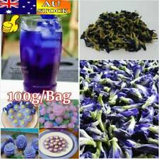 100g Thai Pure Organic Dried Butterfly Pea Tea Blue Flowers Tea Healthy Drink AU