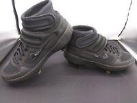 Nike Alpha Huarache Elite 2 Mid Baseball Metal Cleats AJ6874-003 Size 8.5