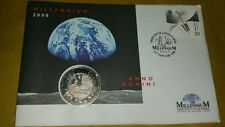 £ 5 moneta millennio PRIMO GIORNO DI COPERTURA Coin 1999