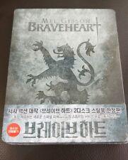 Braveheart Korea Bluray Steelbook,  New/Sealed