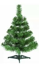 2FT/60CM CHRISTMAS TREE STAND TABLE TOP INDOOR FESTIVE ARTIFICIAL PINE GREEN