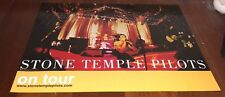 "SUPER RARE STONE TEMPLE PILOTS On Tour 18x24"" PROMO CD Store POSTER NOS"