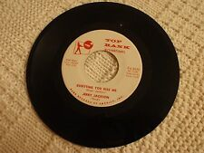 JERRY JACKSON  EVERYTIME YOU KISS ME/THE MEANING OF MY LIFE TOP RANK 2072 M-