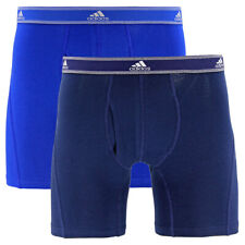 Adidas Relaxed Performance Stretch Cotton Boxer Briefs Size Xl Nwt 2 Pack
