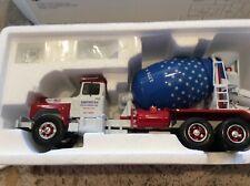 First Gear 1/34 American Rock-N-Ready Mix Mack R-600 R-Model Mixer Truck
