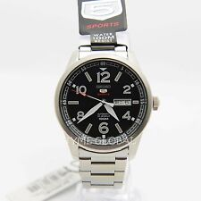 Seiko 5 Sports SRP619J1 Automatic Black Dial Stainless Steel Analog Japan Watch