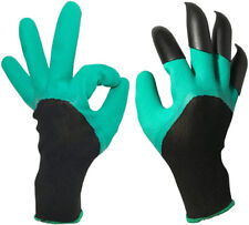 Waterproof Garden Gloves For Digging Planting with 4 ABS Plastic Claws Gardening