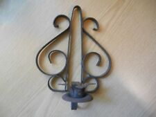 Vintage Rusty Wall Sconce Candle Holder