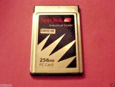 Industrial Grade SanDisk 256MB CF Flash Memory Card/PCMCIA Janome, JPS 256 MB