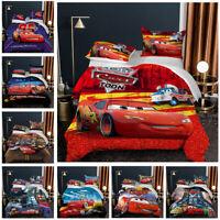 Lightning McQueen Kids Comforter Set Boys Comforter Set Bedding Twin Full Queen