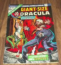 GIANT-SIZE DRACULA #2 MARVEL COMIC 1974 IN VG