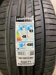 1 New 285 35 19 Goodyear Eagle F1 Asymmetric-2 Tire