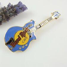 Hard Rock Cafe Guitar Pin - Dallas - Blue & Gold