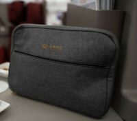 HAINAN AIRLINES discontinued BVLGARI / BULGARI Amenity Bag (large w/pocket)