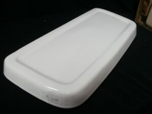 Toilet Cistern Lid WC 183 unbranded 468  x   205 mm WHITE A1035