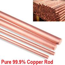 Metalworking C101 Copper Rod 20mm Diameter x 300mm length Grade CW004A