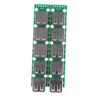 10PCS Type A DIP Female USB To 2.54mm PCB Board Adapter Converter For ArduinoBS