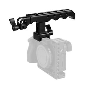 CAMVATE NATO Cheese Top Handle Grip 15mm Rod Clamp Mount Kit For DSLR Camera