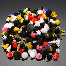 200pcs Auto Car Plastic Rivet Fasteners Push Pin Bumper Fender Panel Clips