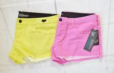 Fox Racing Women's Syren Boardie Shorts (two pieces) - Day Glow Yellow/Pink sz 9