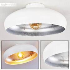 Plafonnier Retro Design Lustre Lampe à suspension blanche Lampe de séjour Acier