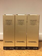 3 x Chanel Sublimage La Creme Yeux Eye Cream 3ml / 0.1oz each - NEW FORMULA!