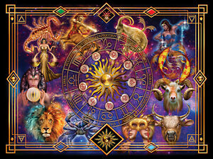 Jigsaw puzzle Astrology Horoscopes The Zodiac 500 XL pieces NEW Made in USA