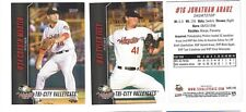 COMPLETE 2017 TRI-CITY VALLEY CATS UPDATE SET MINOR LGE SS HOUSTON 12 CARDS