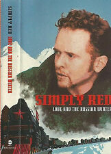 Simply Red Love And The Russian Winter CASSETTE ALBUM Soul Ballad Pop Eastwest