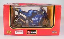 Bburago 1/18 Motorrad Yamaha YZR M1 (2004) blau OVP #2740