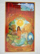 1970's Vtg LSD Psychedelic NUDE ACID TRIP Rare OGDEN POSTER ONS Hippie OASIS
